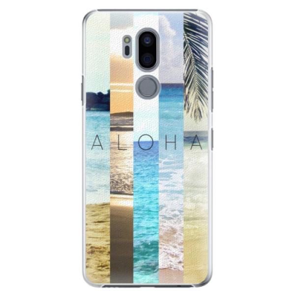 Plastové pouzdro iSaprio - Aloha 02 - LG G7