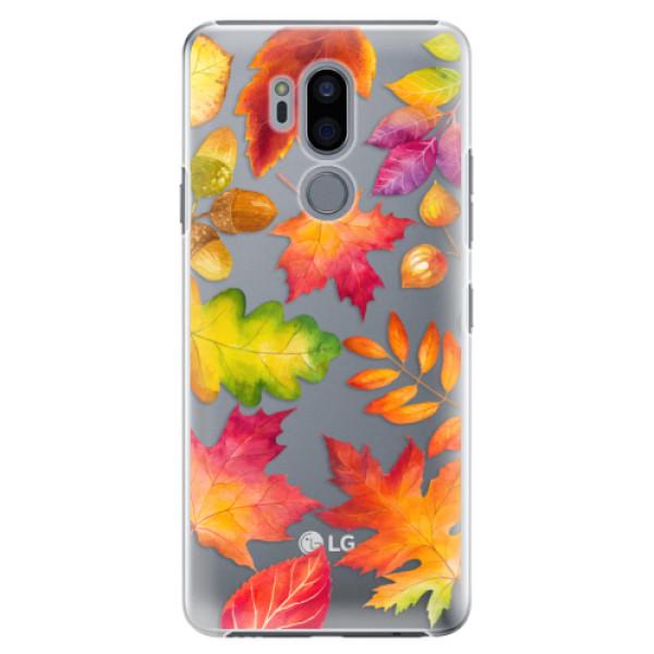 Plastové pouzdro iSaprio - Autumn Leaves 01 - LG G7