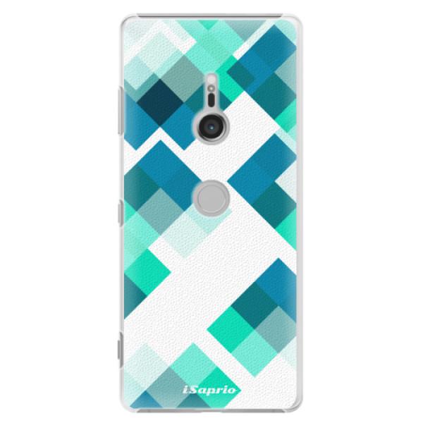 Plastové pouzdro iSaprio - Abstract Squares 11 - Sony Xperia XZ3