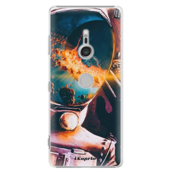Plastové pouzdro iSaprio - Astronaut 01 - Sony Xperia XZ3