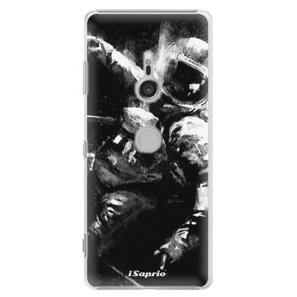 Plastové pouzdro iSaprio - Astronaut 02 - Sony Xperia XZ3