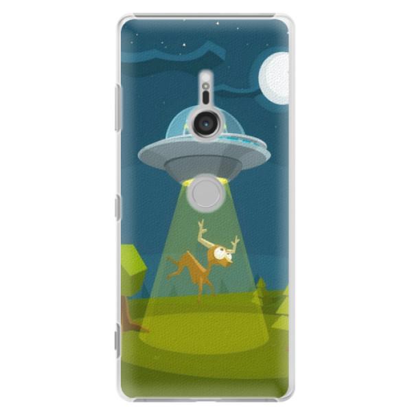 Plastové pouzdro iSaprio - Alien 01 - Sony Xperia XZ3
