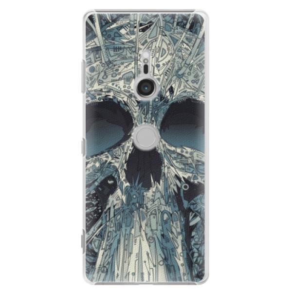 Plastové pouzdro iSaprio - Abstract Skull - Sony Xperia XZ3