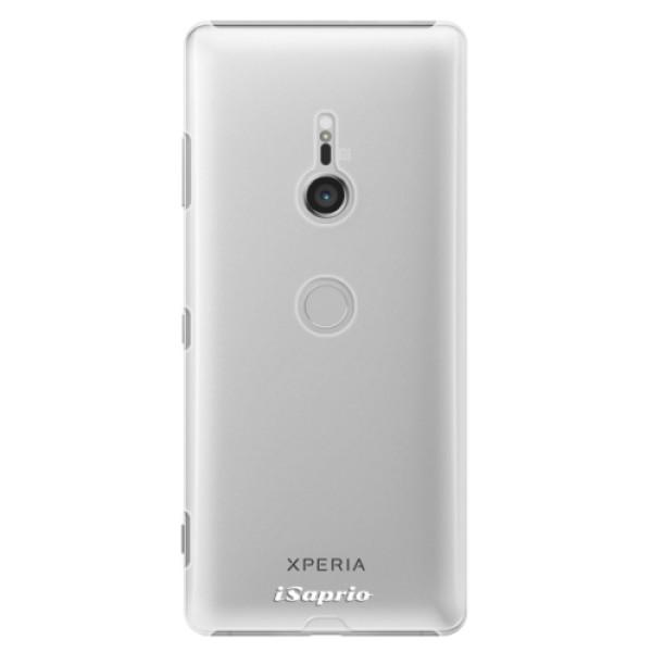 Plastové pouzdro iSaprio - 4Pure - mléčný bez potisku - Sony Xperia XZ3