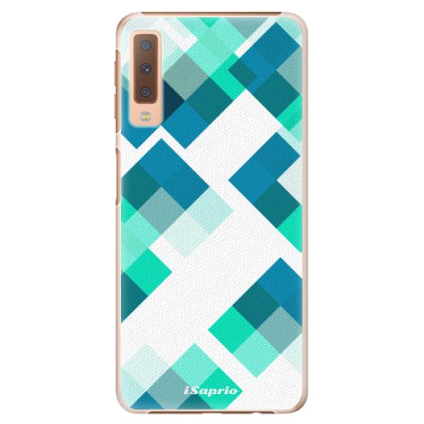 Plastové pouzdro iSaprio - Abstract Squares 11 - Samsung Galaxy A7 (2018)