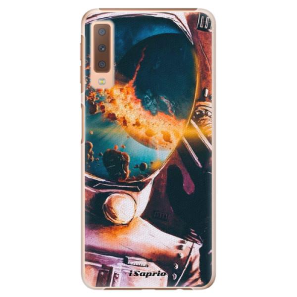 Plastové pouzdro iSaprio - Astronaut 01 - Samsung Galaxy A7 (2018)