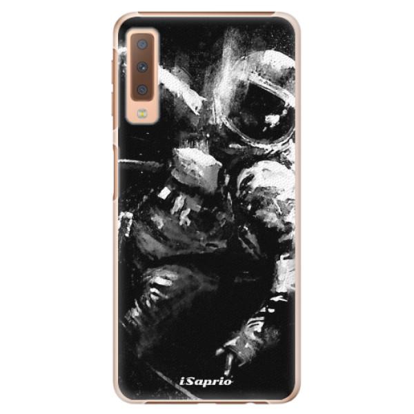 Plastové pouzdro iSaprio - Astronaut 02 - Samsung Galaxy A7 (2018)