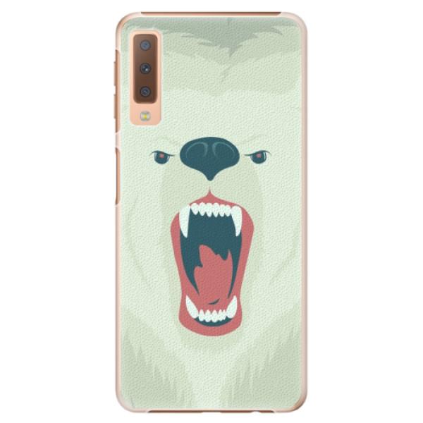 Plastové pouzdro iSaprio - Angry Bear - Samsung Galaxy A7 (2018)