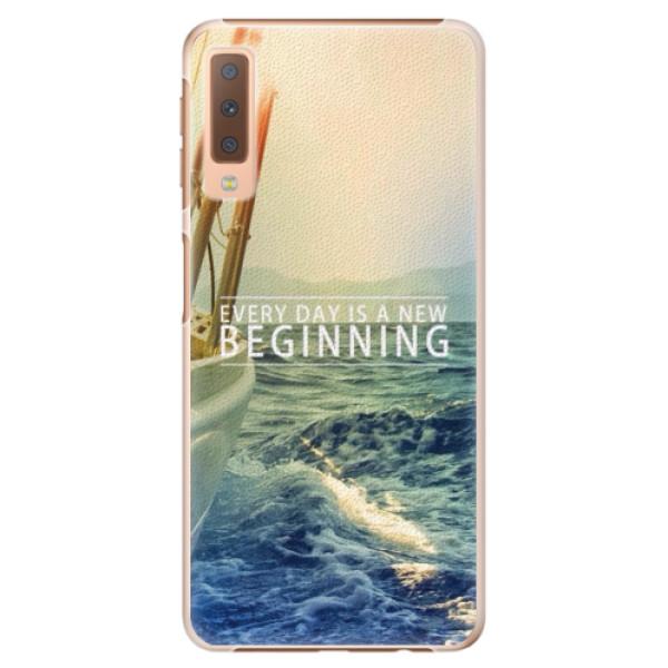 Plastové pouzdro iSaprio - Beginning - Samsung Galaxy A7 (2018)