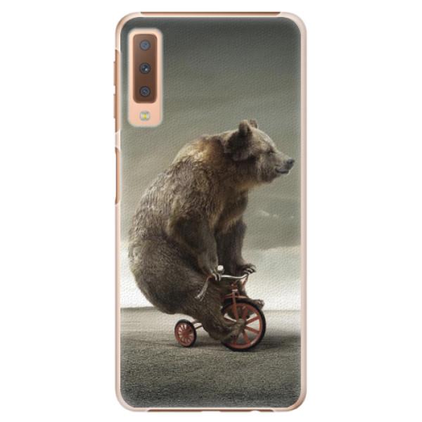Plastové pouzdro iSaprio - Bear 01 - Samsung Galaxy A7 (2018)