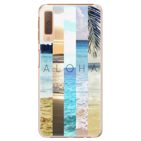 Plastové pouzdro iSaprio - Aloha 02 - Samsung Galaxy A7 (2018)