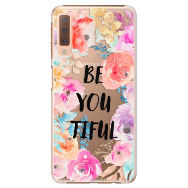Plastové pouzdro iSaprio - BeYouTiful - Samsung Galaxy A7 (2018)