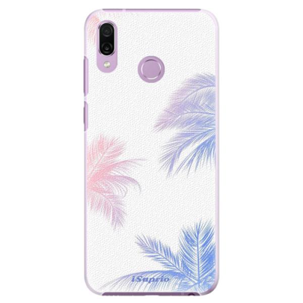 Plastové pouzdro iSaprio - Digital Palms 10 - Huawei Honor Play