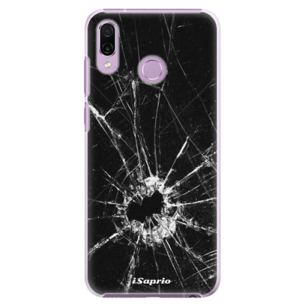 Plastové pouzdro iSaprio - Broken Glass 10 - Huawei Honor Play