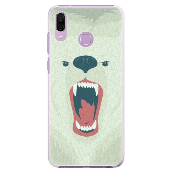 Plastové pouzdro iSaprio - Angry Bear - Huawei Honor Play