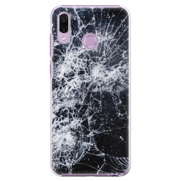 Plastové pouzdro iSaprio - Cracked - Huawei Honor Play