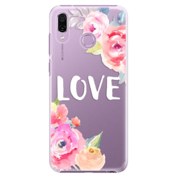 Plastové pouzdro iSaprio - Love - Huawei Honor Play