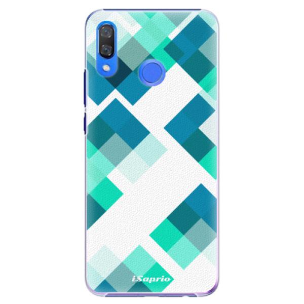 Plastové pouzdro iSaprio - Abstract Squares 11 - Huawei Y9 2019