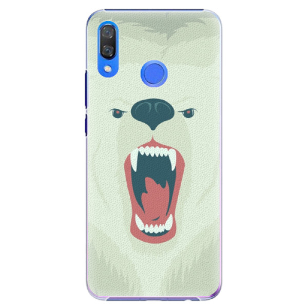 Plastové pouzdro iSaprio - Angry Bear - Huawei Y9 2019