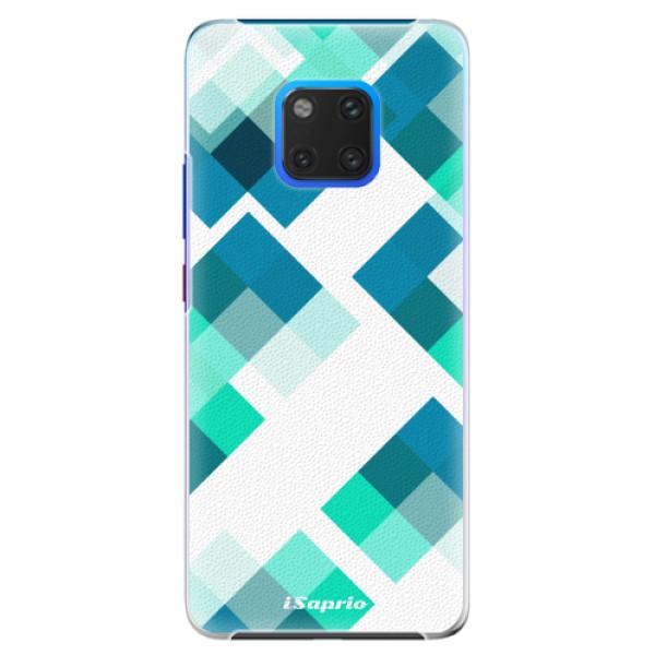 Plastové pouzdro iSaprio - Abstract Squares 11 - Huawei Mate 20 Pro