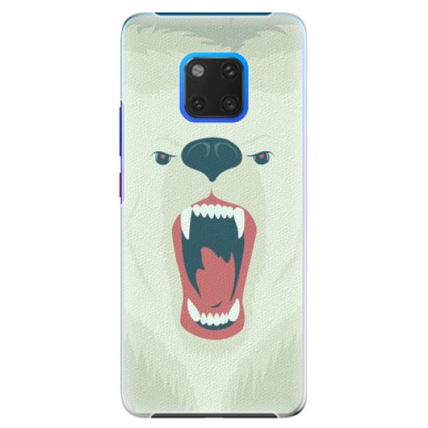 Plastové pouzdro iSaprio - Angry Bear - Huawei Mate 20 Pro