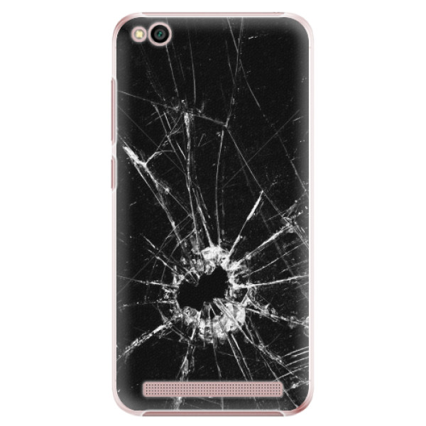 Plastové pouzdro iSaprio - Broken Glass 10 - Xiaomi Redmi 5A