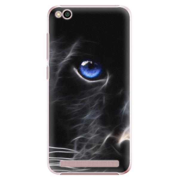 Plastové pouzdro iSaprio - Black Puma - Xiaomi Redmi 5A