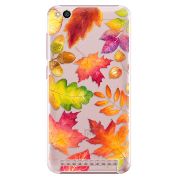 Plastové pouzdro iSaprio - Autumn Leaves 01 - Xiaomi Redmi 5A