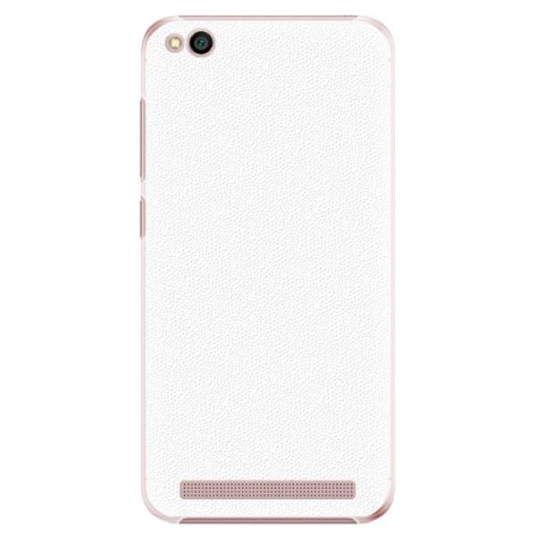 Plastové pouzdro iSaprio - 4Pure - bílý - Xiaomi Redmi 5A