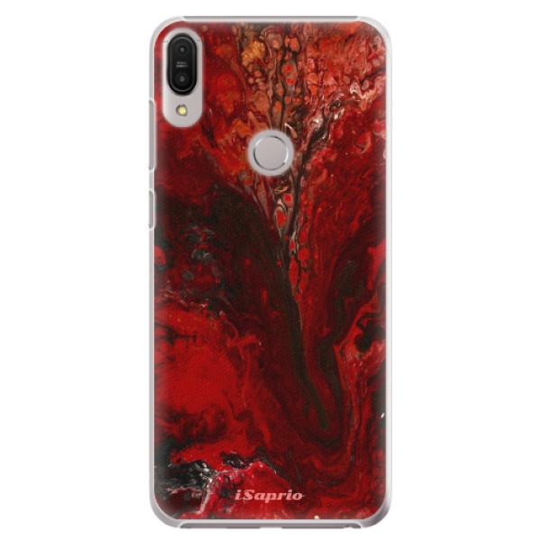 Plastové pouzdro iSaprio - RedMarble 17 - Asus Zenfone Max Pro ZB602KL