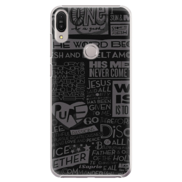 Plastové pouzdro iSaprio - Text 01 - Asus Zenfone Max Pro ZB602KL