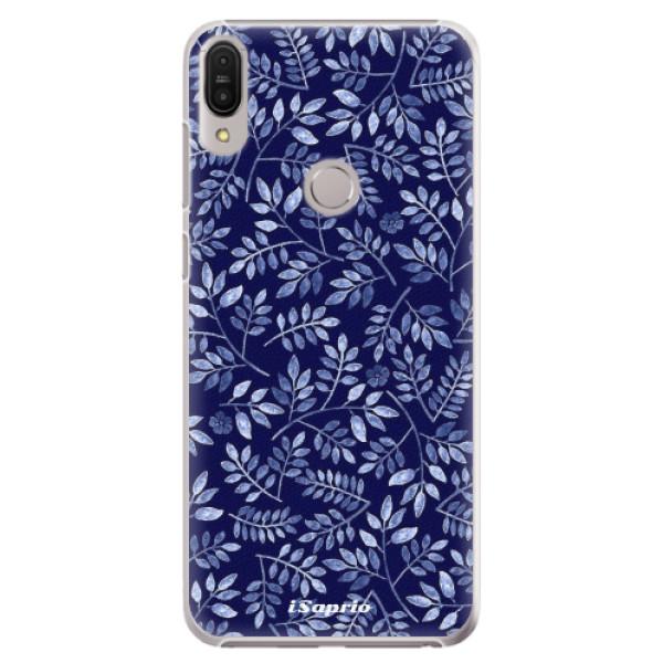 Plastové pouzdro iSaprio - Blue Leaves 05 - Asus Zenfone Max Pro ZB602KL
