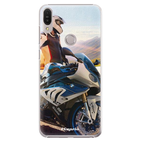 Plastové pouzdro iSaprio - Motorcycle 10 - Asus Zenfone Max Pro ZB602KL