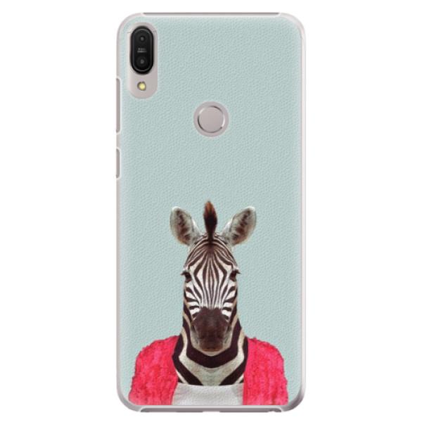 Plastové pouzdro iSaprio - Zebra 01 - Asus Zenfone Max Pro ZB602KL