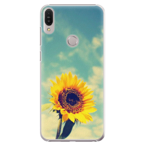 Plastové pouzdro iSaprio - Sunflower 01 - Asus Zenfone Max Pro ZB602KL