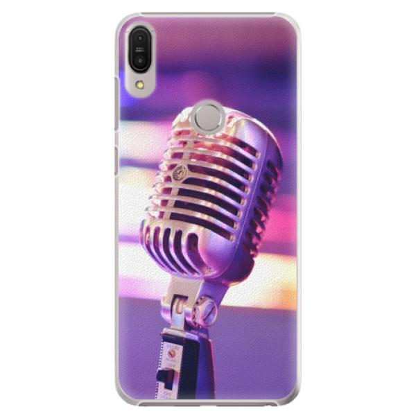Plastové pouzdro iSaprio - Vintage Microphone - Asus Zenfone Max Pro ZB602KL