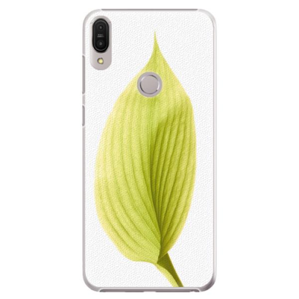 Plastové pouzdro iSaprio - Green Leaf - Asus Zenfone Max Pro ZB602KL
