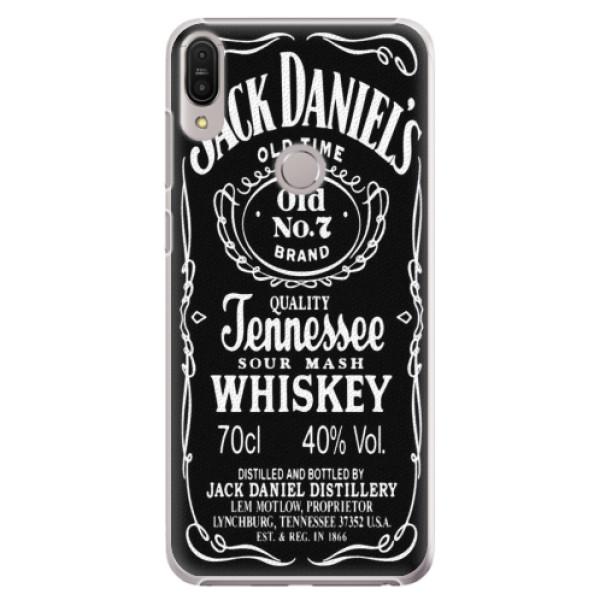 Plastové pouzdro iSaprio - Jack Daniels - Asus Zenfone Max Pro ZB602KL