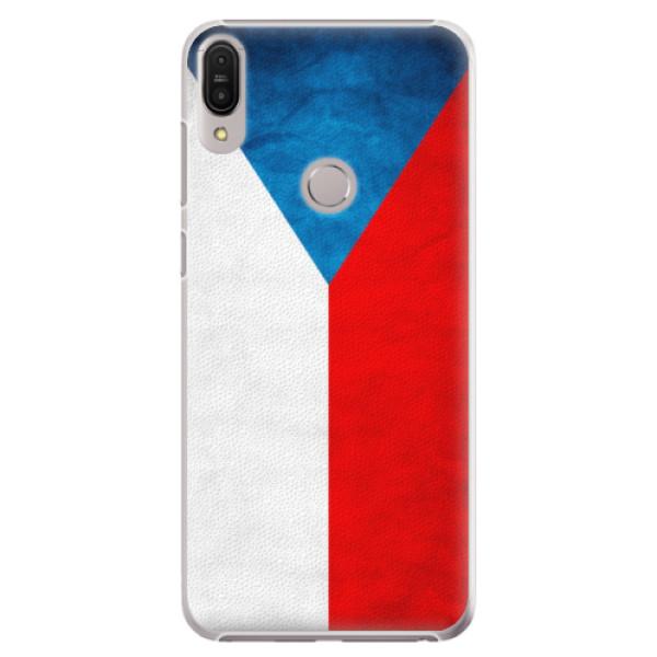 Plastové pouzdro iSaprio - Czech Flag - Asus Zenfone Max Pro ZB602KL