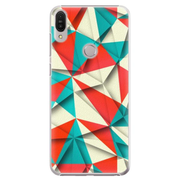 Plastové pouzdro iSaprio - Origami Triangles - Asus Zenfone Max Pro ZB602KL