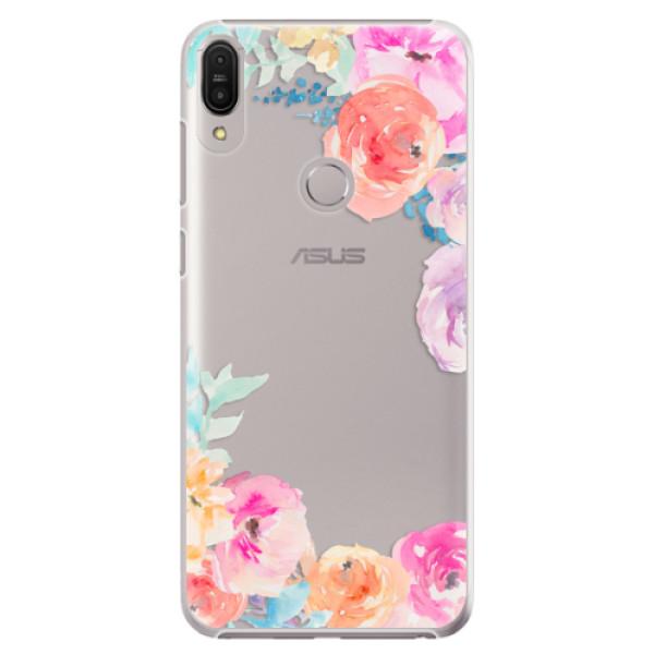 Plastové pouzdro iSaprio - Flower Brush - Asus Zenfone Max Pro ZB602KL