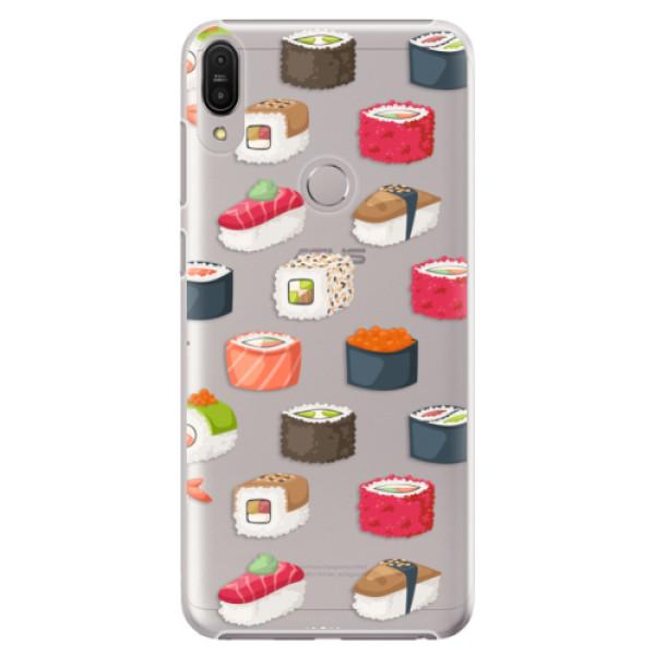 Plastové pouzdro iSaprio - Sushi Pattern - Asus Zenfone Max Pro ZB602KL