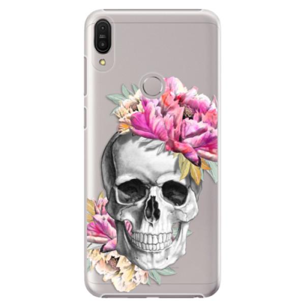 Plastové pouzdro iSaprio - Pretty Skull - Asus Zenfone Max Pro ZB602KL