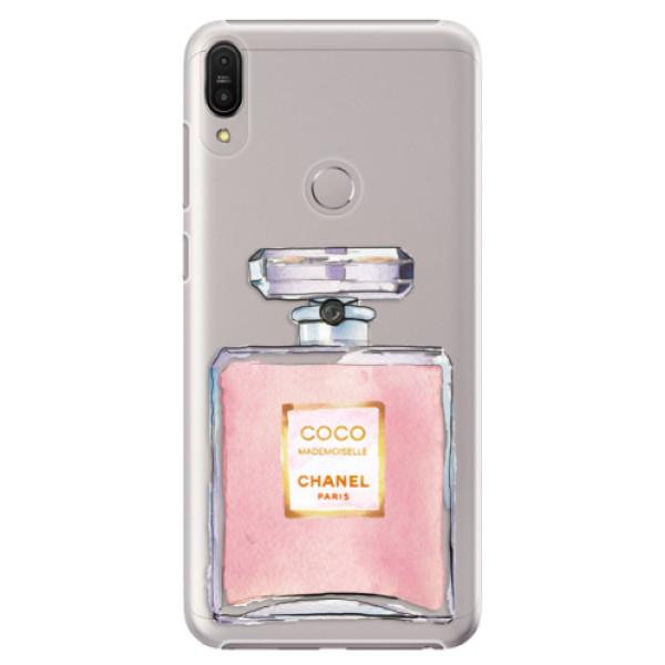 Plastové pouzdro iSaprio - Chanel Rose - Asus Zenfone Max Pro ZB602KL
