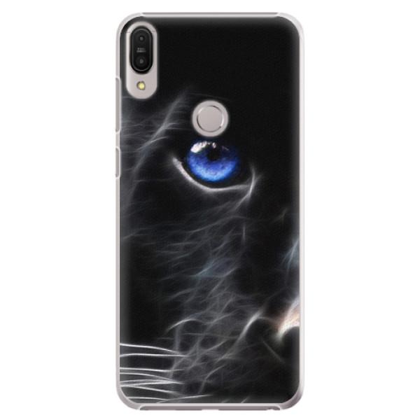 Plastové pouzdro iSaprio - Black Puma - Asus Zenfone Max Pro ZB602KL