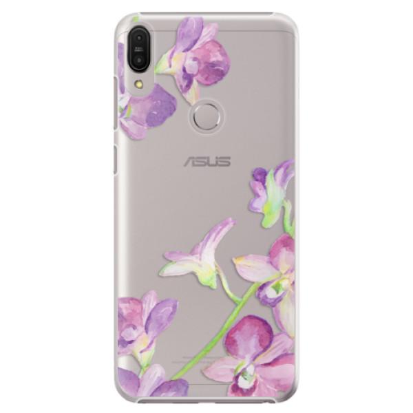 Plastové pouzdro iSaprio - Purple Orchid - Asus Zenfone Max Pro ZB602KL