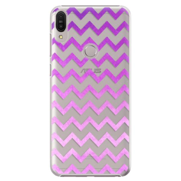 Plastové pouzdro iSaprio - Zigzag - purple - Asus Zenfone Max Pro ZB602KL