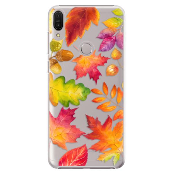 Plastové pouzdro iSaprio - Autumn Leaves 01 - Asus Zenfone Max Pro ZB602KL