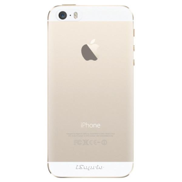 Silikonové pouzdro iSaprio - 4Pure - mléčný bez potisku - iPhone 5/5S/SE