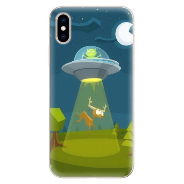 Silikonové pouzdro iSaprio - Alien 01 - iPhone XS